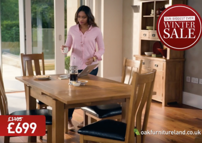 Oak Furniture Land – Biggest Ever Winter Sale