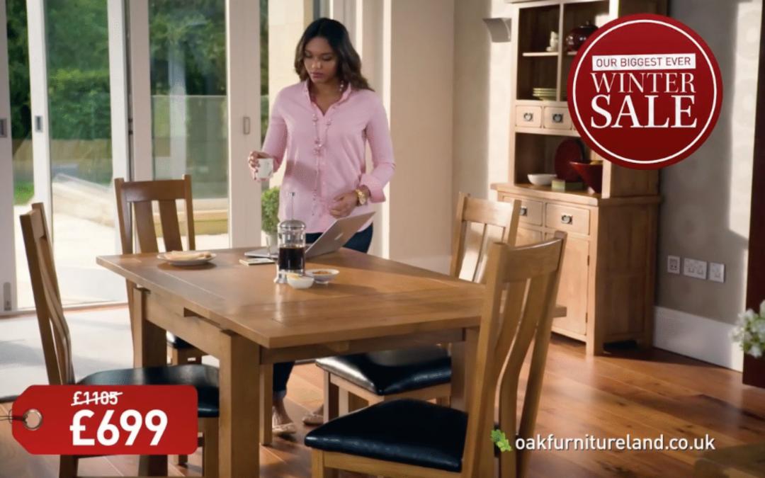 Oak Furniture Land Biggest Ever Winter Sale Equinox Video