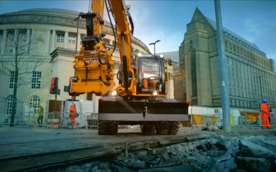 PRODUCING LAUNCH CONTENT FOR JCB HYDRADIG