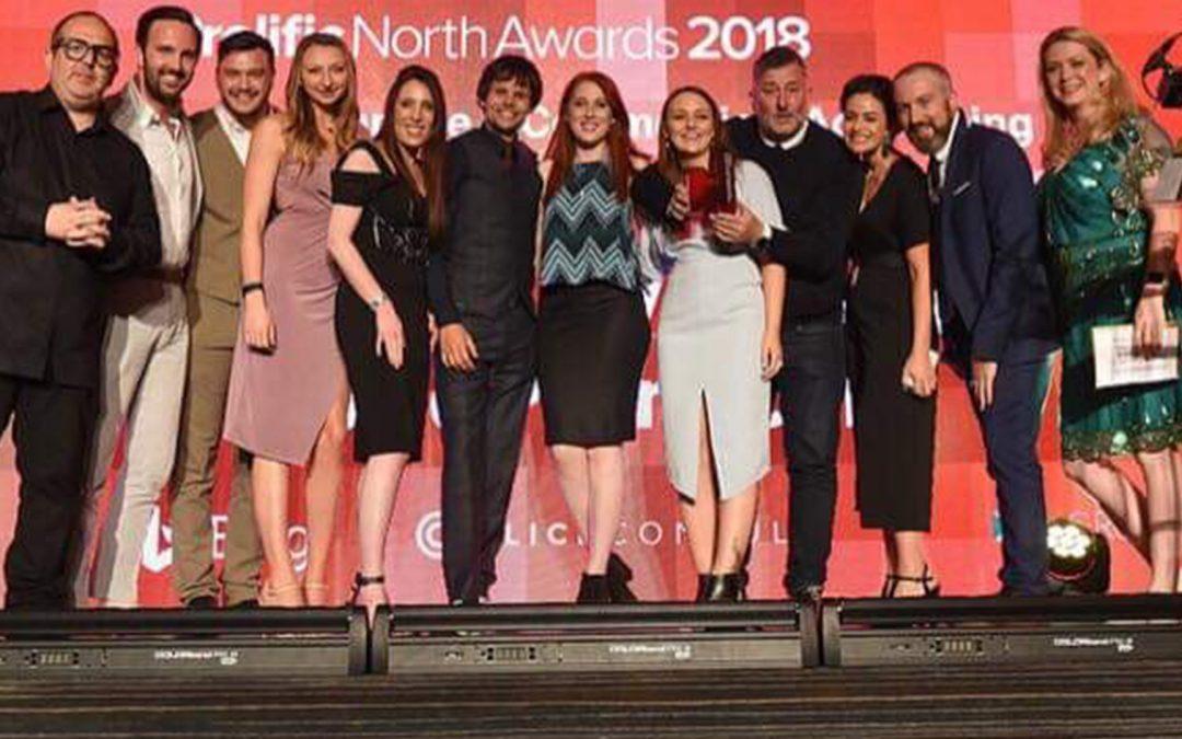 WE'RE PROLIFIC NORTH AWARD WINNERS 2018